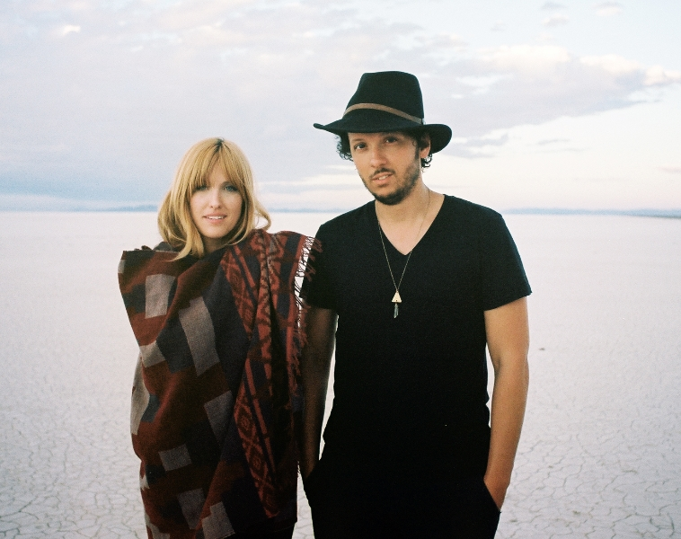Michael Gungor and his wife. Photo Credit: SImone Rubi from http://gungormusic.com/media